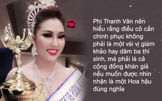 Ai dám mở miệng gọi Phi Thanh Vân là Hoa hậu? - Ảnh 2.