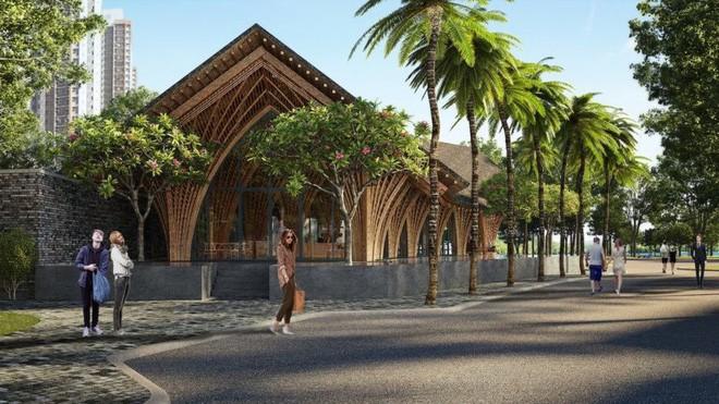 Nhà hàng tre của kiến trúc sư Việt đang xây dở đã lên tạp chí danh tiếng - Ảnh 1.