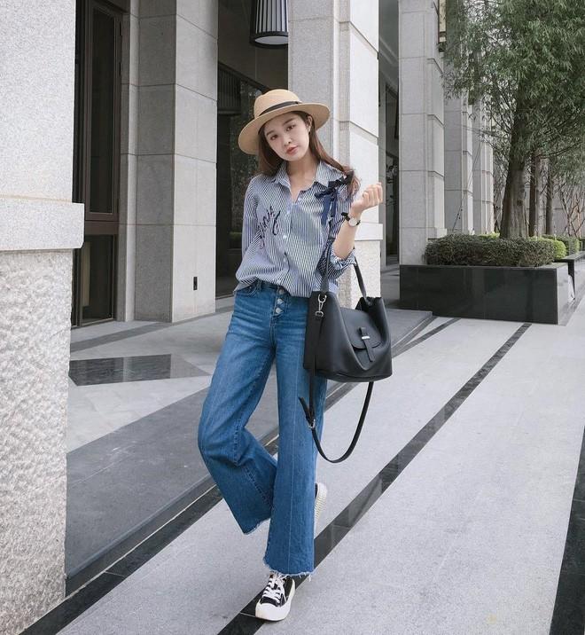 """Quên quần jeans trơn đi, còn đến 5 kiểu quần vừa đẹp vừa chất này mà các nàng nên """"bỏ túi"""" ngay - Ảnh 2."""