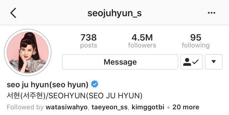 Seohyun bất ngờ bổ sung tên nhóm vào profile Instagram sau khi xóa, SNSD vẫn còn hy vọng? - Ảnh 2.