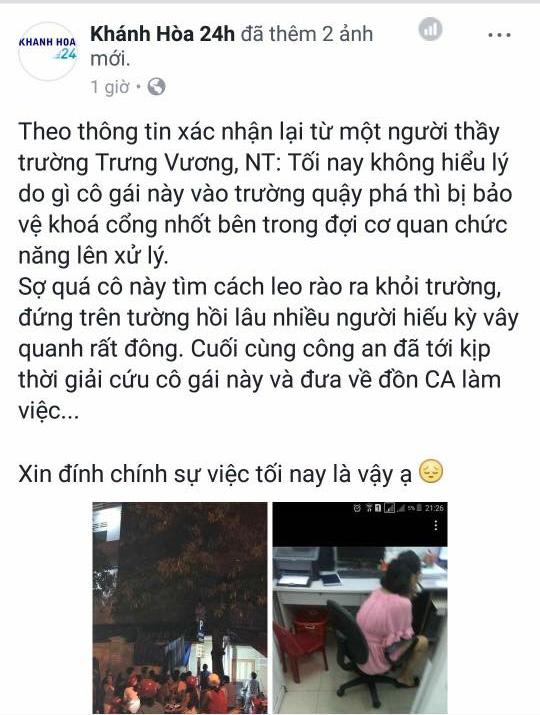 Thực hư sự việc cô gái mặc váy treo cổ tự tử tại trường học ở Nha Trang giữa đêm - Ảnh 4.