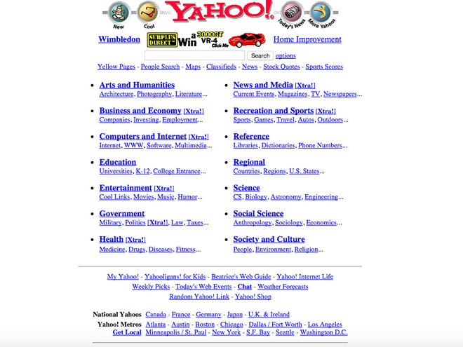 So sánh giao diện của những website nổi tiếng: ngày xưa và bây giờ - Ảnh 11.