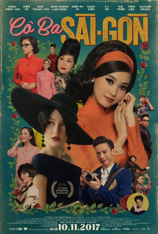 Poster chính thức gây tranh cãi của Cô Ba Sài Gòn