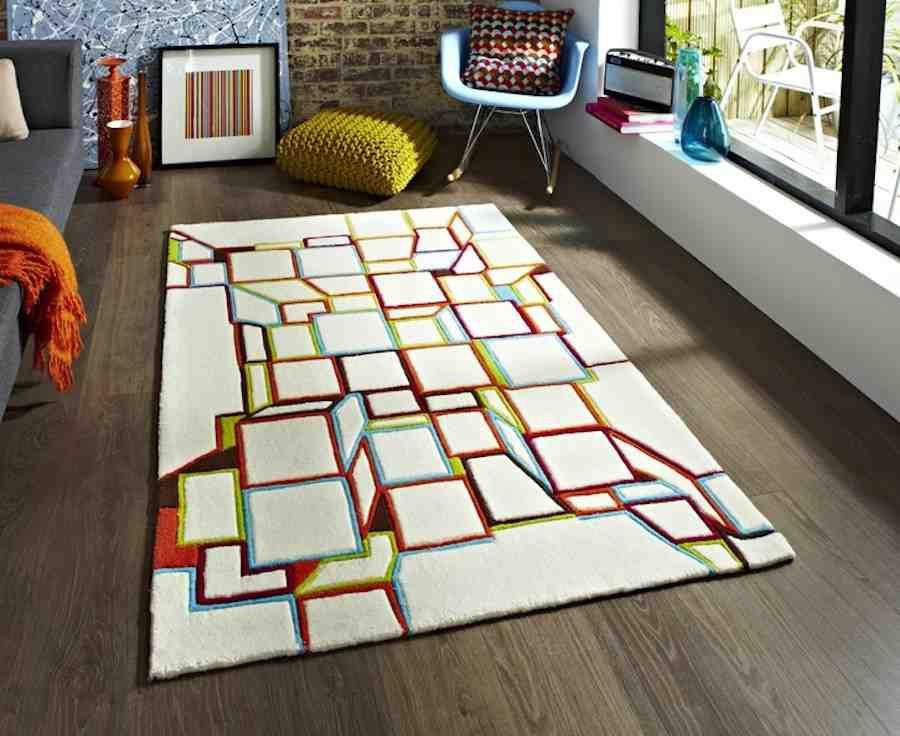 Gợi ý 14 mẫu thảm trải sàn rực rỡ giúp căn phòng biến thành cầu vồng đẹp mắt - Ảnh 21.