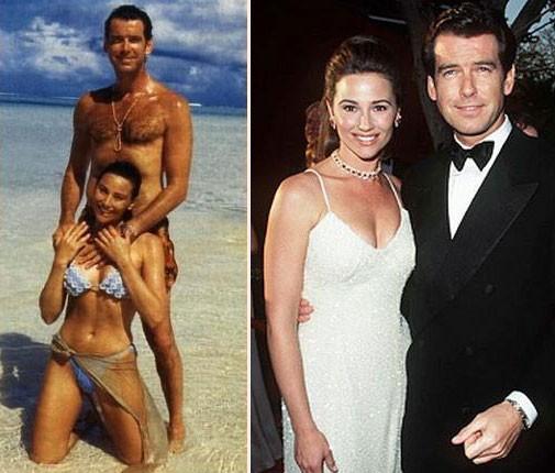 Sau nỗi đau mất vợ con, tài tử Điệp viên 007 tìm được tình yêu mới và họ yêu nhau suốt 23 năm dù cô ấy béo, xấu thế nào - Ảnh 11.