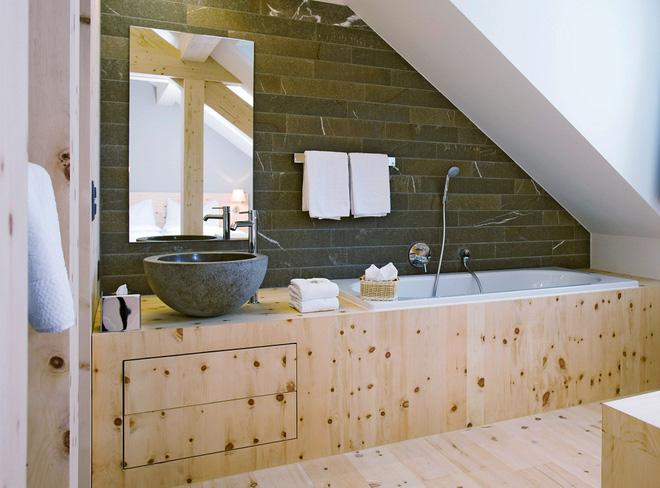 14 thiết kế phòng tắm gác mái vừa nhìn qua đã thích ngay - Ảnh 25.