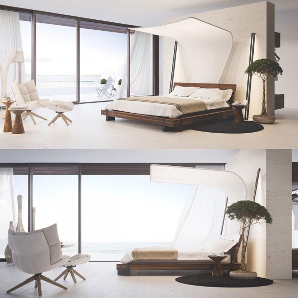 14 mẫu phòng ngủ rộng rãi dành cho người yêu kiến trúc - Ảnh 24.