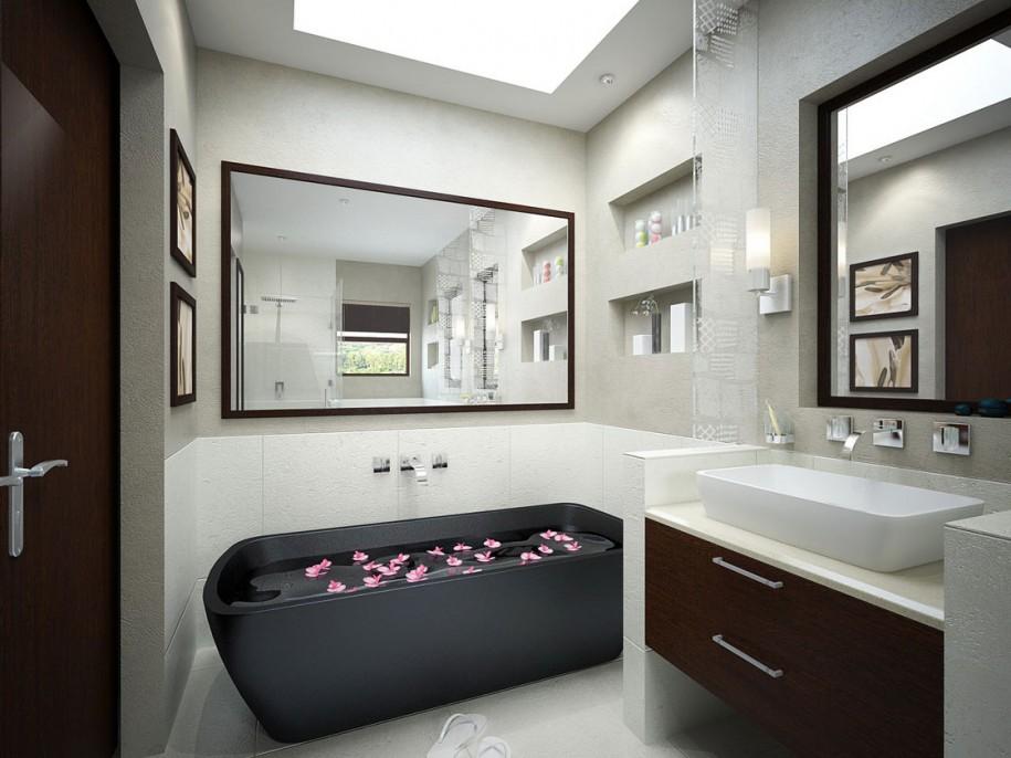 15 phòng tắm với phong cách tối giản mà vẫn cuốn hút - Ảnh 25.
