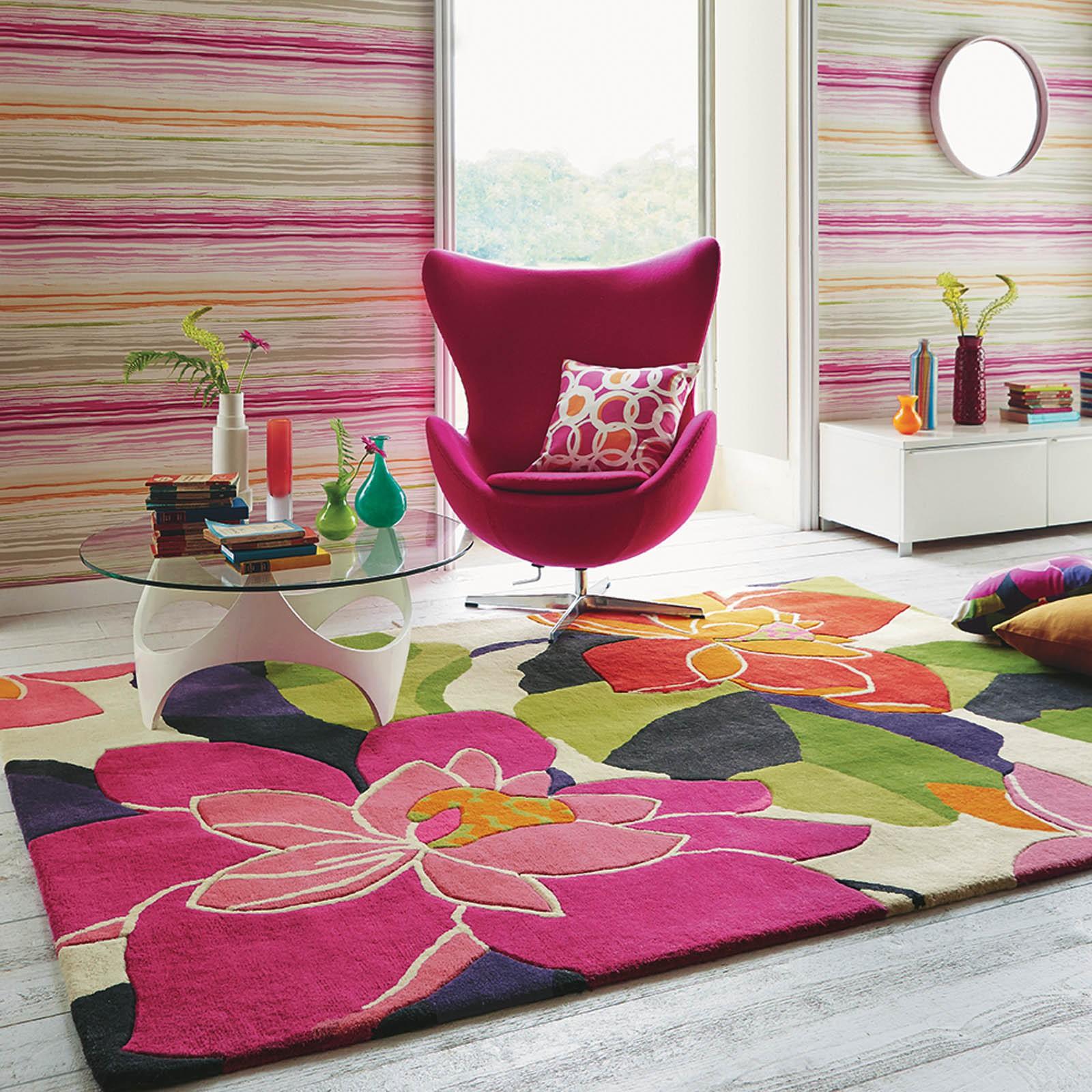 Gợi ý 14 mẫu thảm trải sàn rực rỡ giúp căn phòng biến thành cầu vồng đẹp mắt - Ảnh 27.