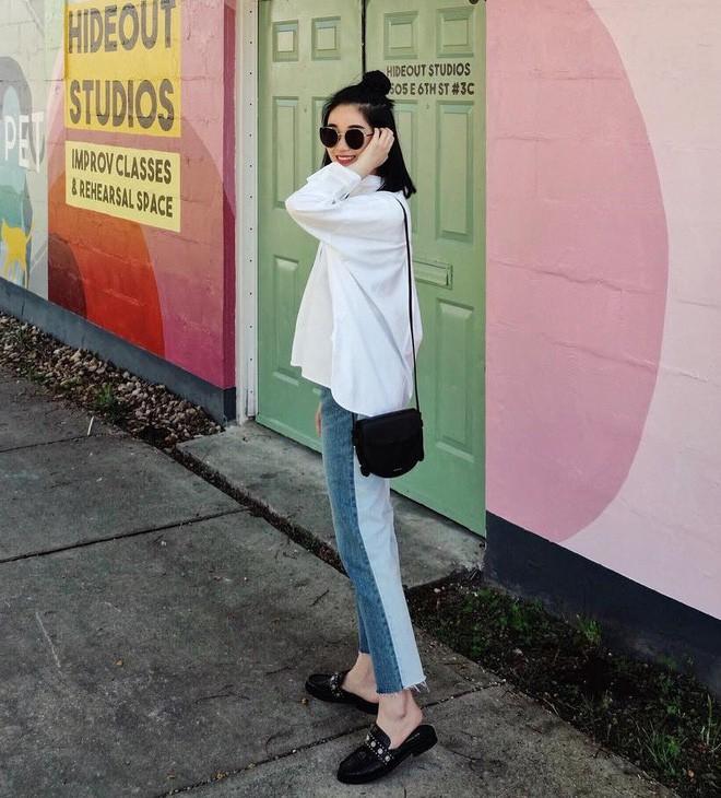 """Quên quần jeans trơn đi, còn đến 5 kiểu quần vừa đẹp vừa chất này mà các nàng nên """"bỏ túi"""" ngay - Ảnh 14."""