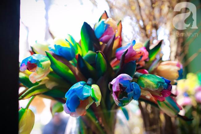 Hà Nội: Chi 72 triệu để mua hoa tươi nhập khẩu đủ tiêu chí độc và đẹp về chơi Tết - Ảnh 15.