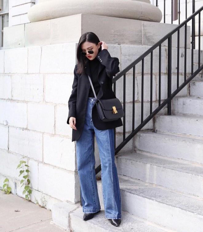 """Quên quần jeans trơn đi, còn đến 5 kiểu quần vừa đẹp vừa chất này mà các nàng nên """"bỏ túi"""" ngay - Ảnh 15."""