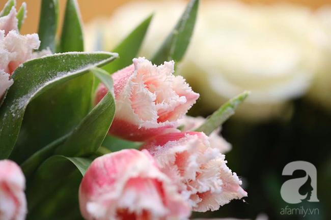 Hà Nội: Chi 72 triệu để mua hoa tươi nhập khẩu đủ tiêu chí độc và đẹp về chơi Tết - Ảnh 17.
