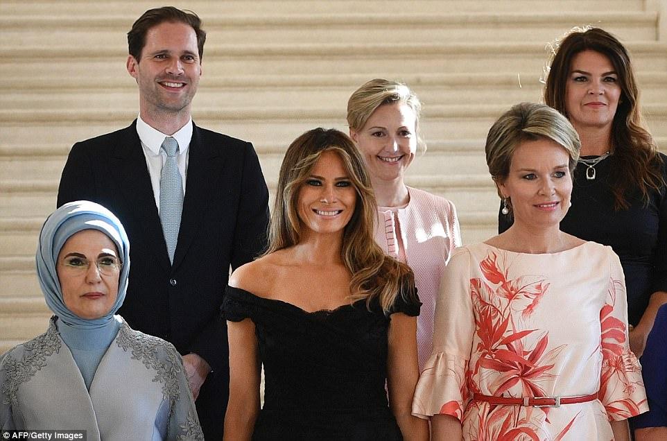 Giữa dàn Đệ nhất phu nhân tài sắc, chồng của Thủ tướng Luxembourg mới thực sự là tâm điểm gây chú ý - Ảnh 5.
