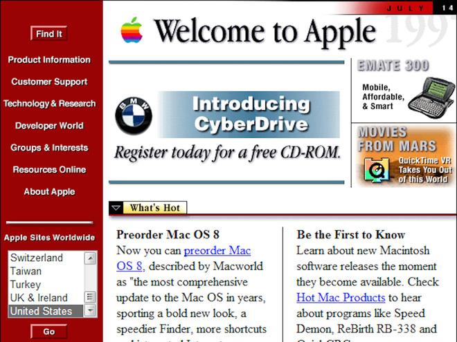 So sánh giao diện của những website nổi tiếng: ngày xưa và bây giờ - Ảnh 17.