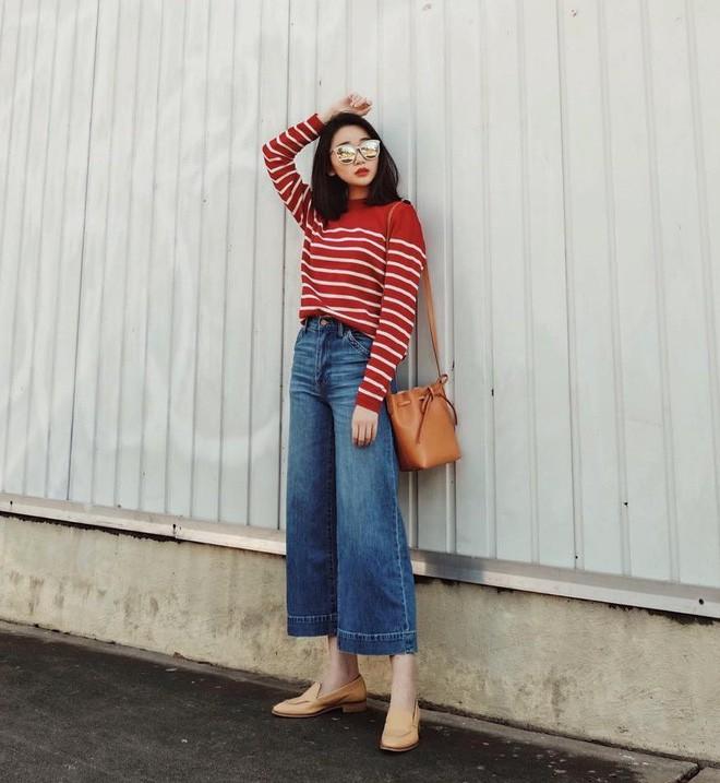 """Quên quần jeans trơn đi, còn đến 5 kiểu quần vừa đẹp vừa chất này mà các nàng nên """"bỏ túi"""" ngay - Ảnh 17."""