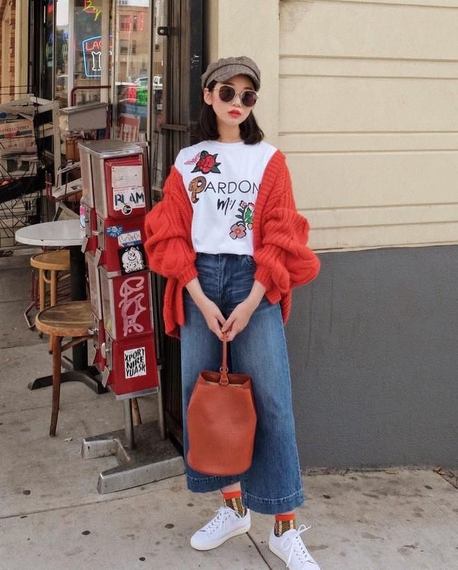 """Quên quần jeans trơn đi, còn đến 5 kiểu quần vừa đẹp vừa chất này mà các nàng nên """"bỏ túi"""" ngay - Ảnh 18."""