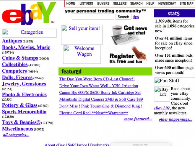So sánh giao diện của những website nổi tiếng: ngày xưa và bây giờ - Ảnh 19.