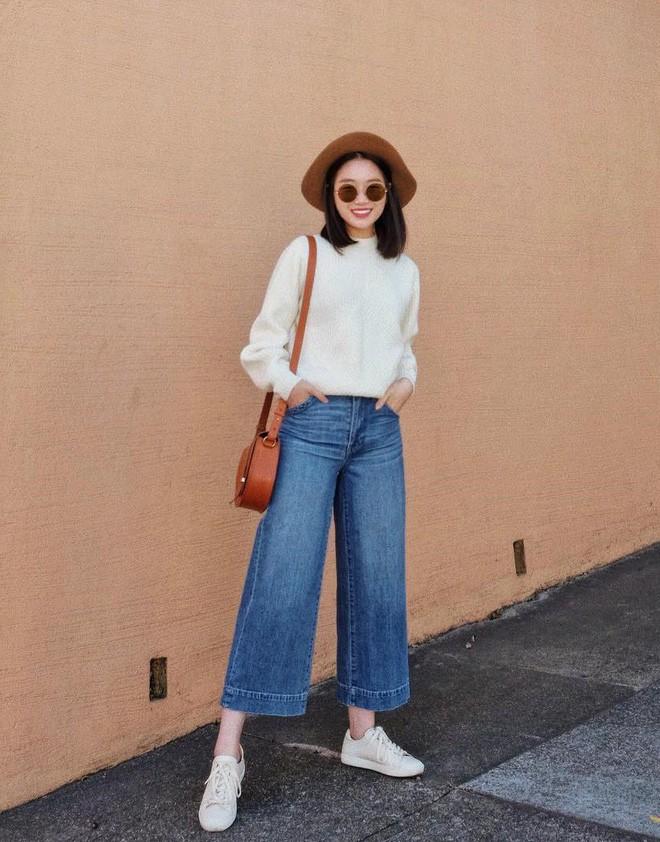 """Quên quần jeans trơn đi, còn đến 5 kiểu quần vừa đẹp vừa chất này mà các nàng nên """"bỏ túi"""" ngay - Ảnh 19."""