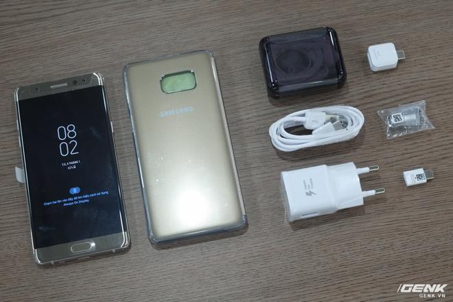 Mở hộp Galaxy Note Fan Edition (Note 7 FE) tại VN: Vẫn rất tốt, nhưng kém hấp dẫn với giá 16 triệu - Ảnh 3.