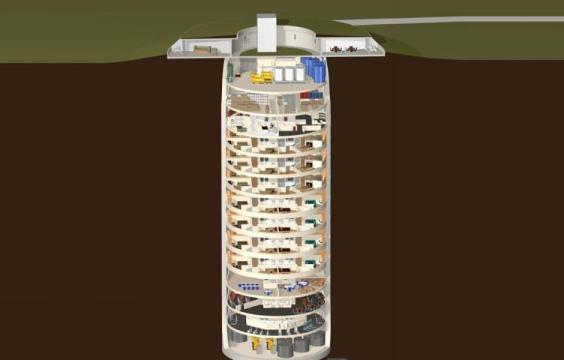 Ghé thăm căn hộ cao cấp dưới lòng đất có thể tránh thảm họa thiên nhiên và tấn công hạt nhân của giới siêu giàu - Ảnh 3.