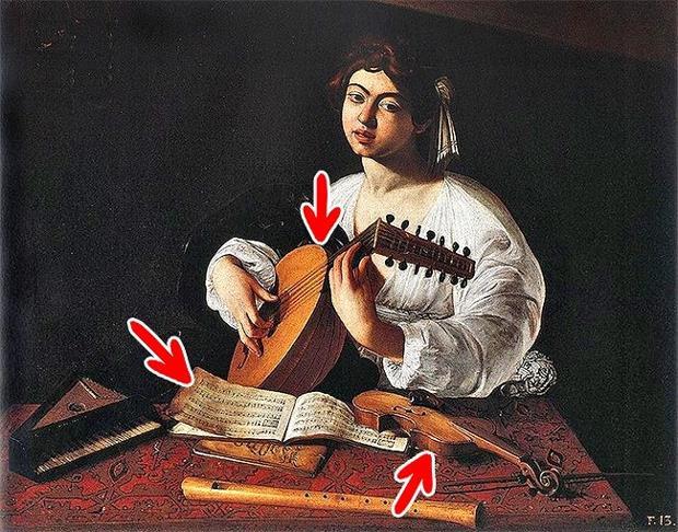 7 bí mật động trời được giấu trong những bức họa nổi tiếng - Ảnh 2.
