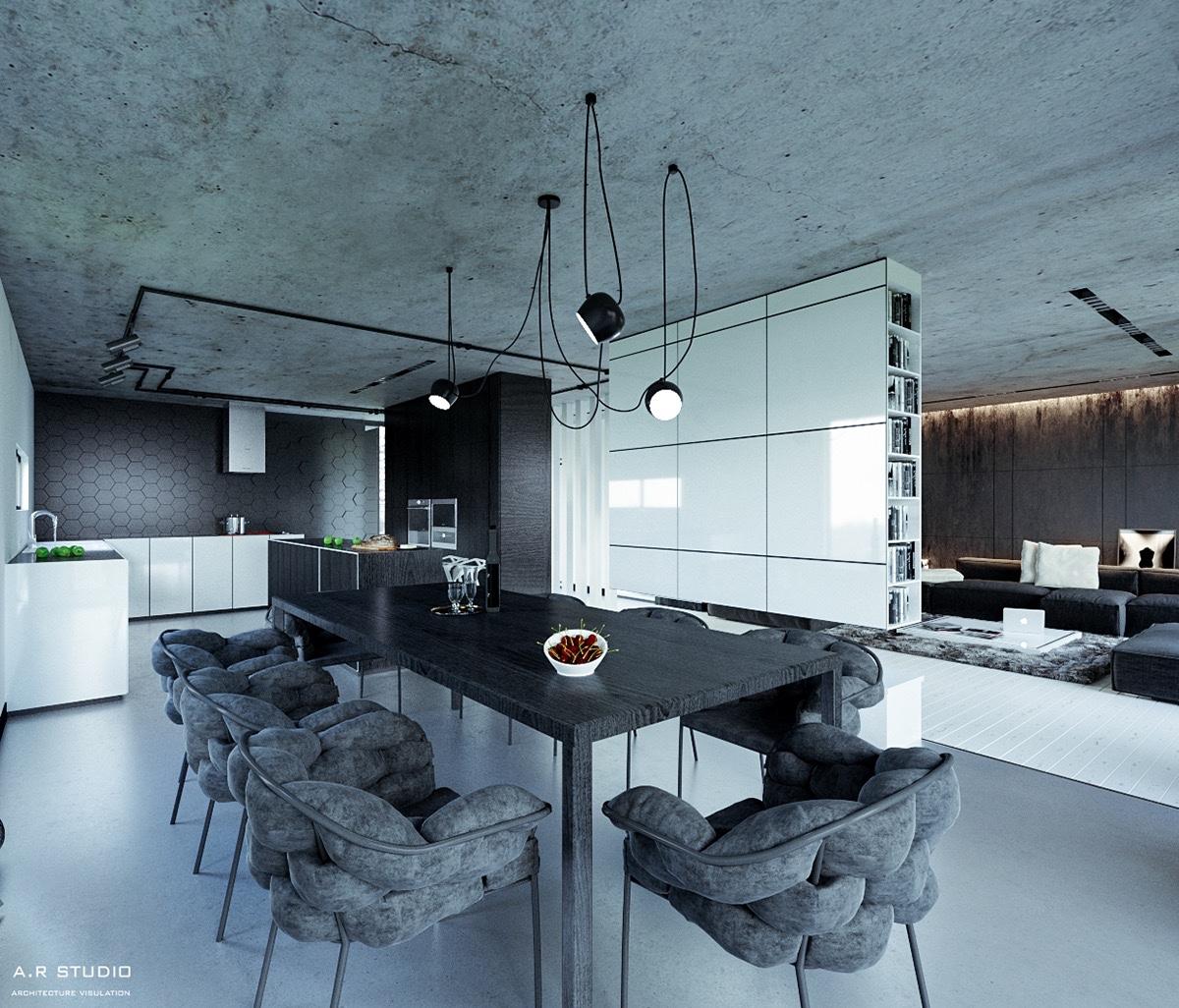 15 thiết kế phòng ăn tuyệt đẹp khiến bạn cả ngày chỉ muốn lăn vào bếp - Ảnh 5.