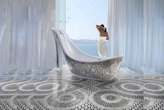 16 thiết kế bồn tắm khơi dậy cảm hứng ngay từ cái nhìn đầu tiên - Ảnh 5.