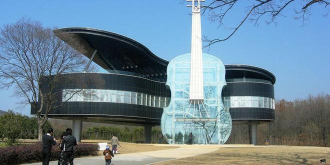 Lạ mắt với những tòa nhà có thiết kế kỳ lạ nhất trên thế giới - Ảnh 3.