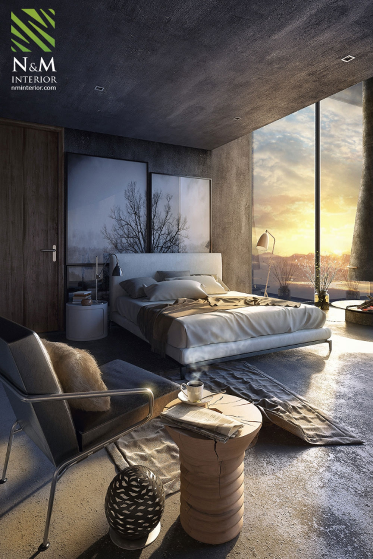 14 mẫu phòng ngủ rộng rãi dành cho người yêu kiến trúc - Ảnh 5.
