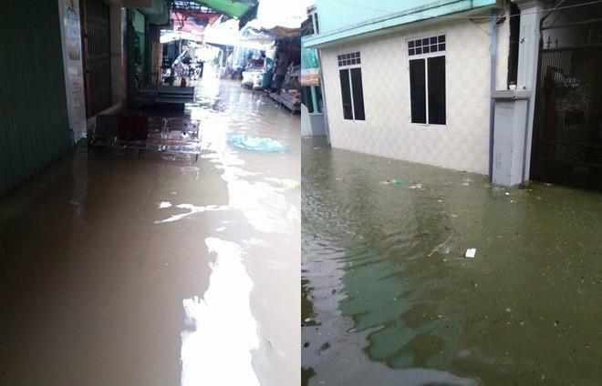 Bi hài ngày mưa lũ: Đang ăn cơm thì nước tràn ngập mâm, một nhà có điện cả làng được nhờ sạc điện thoại - Ảnh 3.