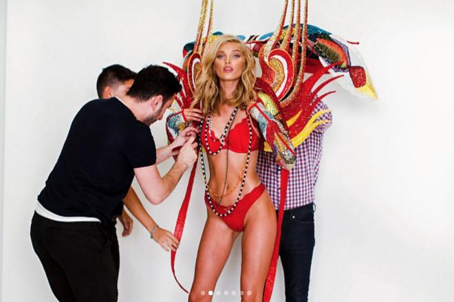 Rò rỉ những thiết kế Victorias Secret bắt tay cùng Balmain khiến dân tình ngày càng mong ngóng - Ảnh 3.