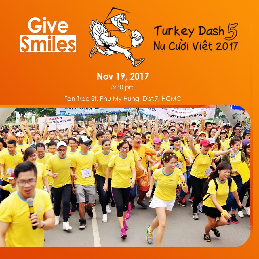 Turkey Dash và ước mong tất cả trẻ em đều có trọn vẹn nụ cười hồn nhiên - Ảnh 3.