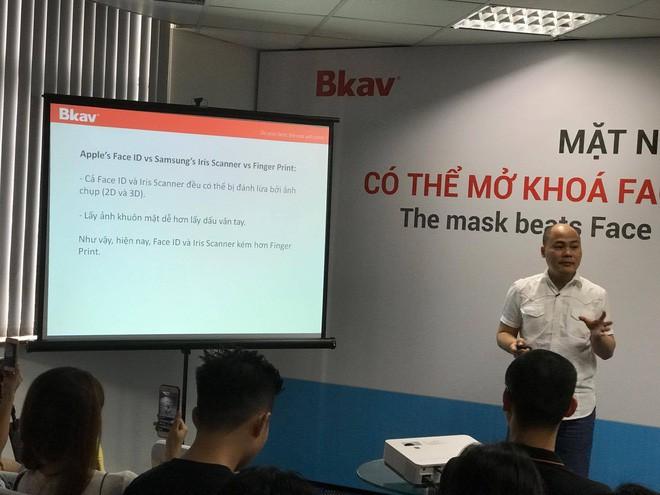 CEO Nguyễn Tử Quảng nhận định bảo mật Face ID kém bảo mật mống mắt của Samsung - Ảnh 3.