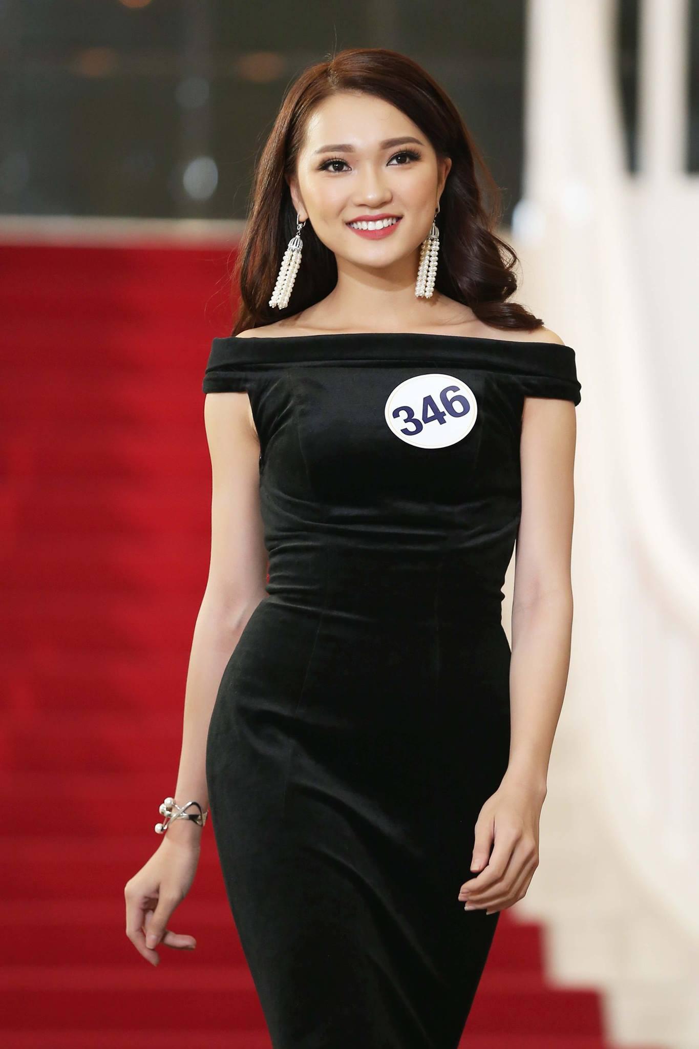 Khuôn mặt đẹp nhưng chỉ cao 1m65, lại kém tiếng Anh, cô nàng này sẽ làm nên chuyện tại Hoa hậu Hoàn vũ VN? - Ảnh 3.