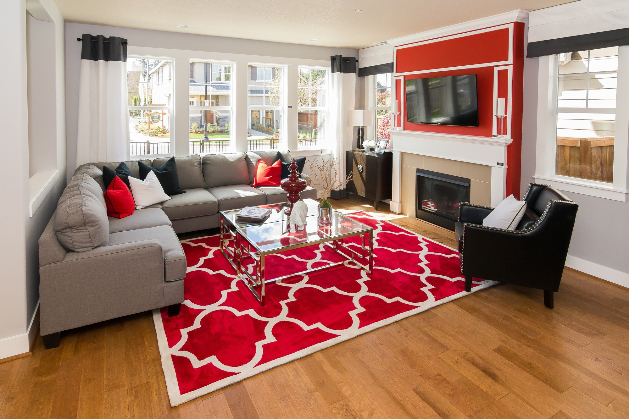 Gợi ý 14 mẫu thảm trải sàn rực rỡ giúp căn phòng biến thành cầu vồng đẹp mắt - Ảnh 5.