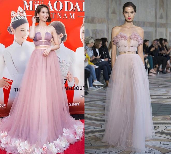 Năm 2017, Ngọc Trinh xứng đáng là Nữ hoàng váy nhái của showbiz Việt - Ảnh 3.