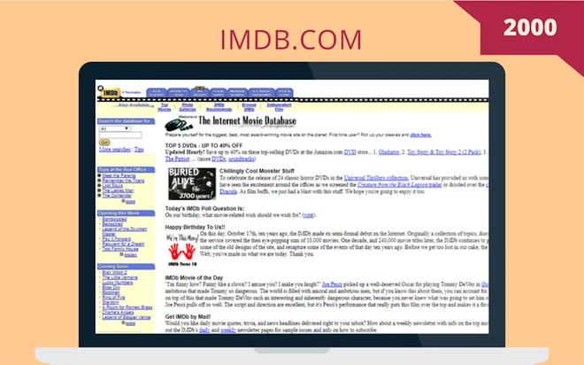 So sánh giao diện của những website nổi tiếng: ngày xưa và bây giờ - Ảnh 21.