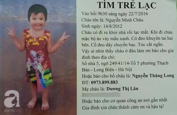 Mẹ của bé gái 4 tuổi mất tích bí ẩn gần 1 năm ở Hà Nội: Tôi tin là con vẫn sống khỏe mạnh - Ảnh 4.