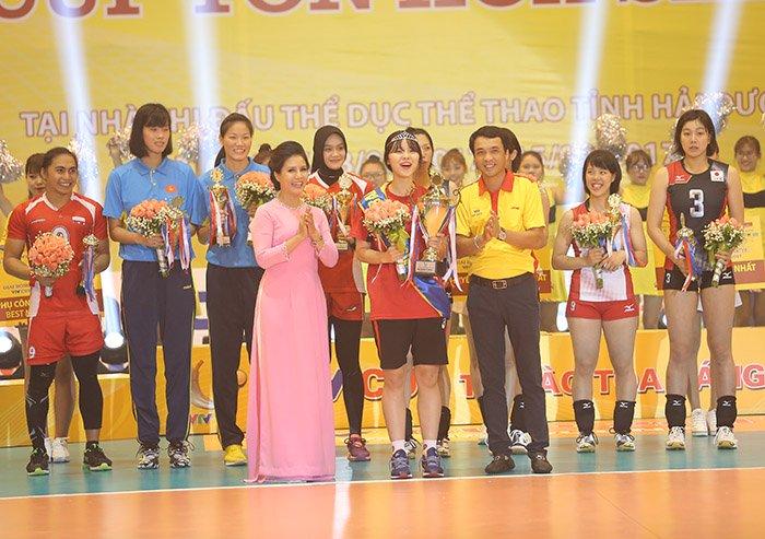 Ngắm vẻ đẹp chân dài xứ Hàn đoạt giải Hoa khôi VTV Cup - Ảnh 4.
