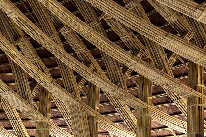 Nhà hàng hình nón làm từ 150.000 cây tre ở Kim Bôi khiến tạp chí kiến trúc Mỹ hết lời khen ngợi - Ảnh 4.