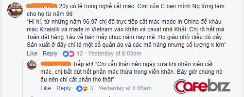 """Thêm người tiêu dùng tố khăn lụa Khaisilk gắn mác Made in Vietnam, nhưng đã khéo cắt đi mác """"Made in China"""", vì sao doanh nhân Hoàng Khải vẫn im lặng? - Ảnh 4."""