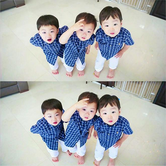 Ông bố quốc dân xứ Hàn và cách dạy 3 con sinh ba đến chuyên gia tâm lý cũng phải khen ngợi - Ảnh 4.