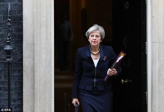 Thủ tướng Anh Theresa May. Ảnh: EPA