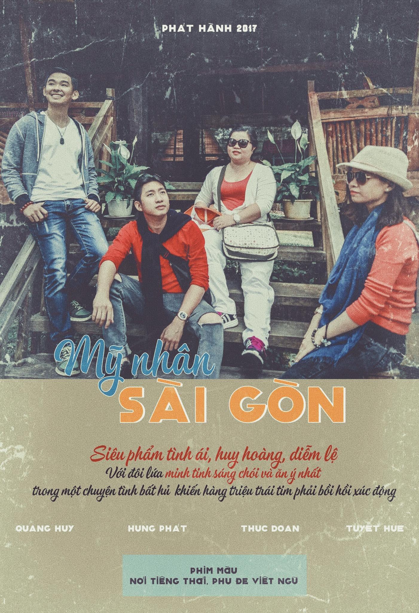 Phong cách chỉnh màu retro cùng những câu cửa miệng của người Sài Gòn xưa được các bạn trẻ yêu thích (ảnh: internet)