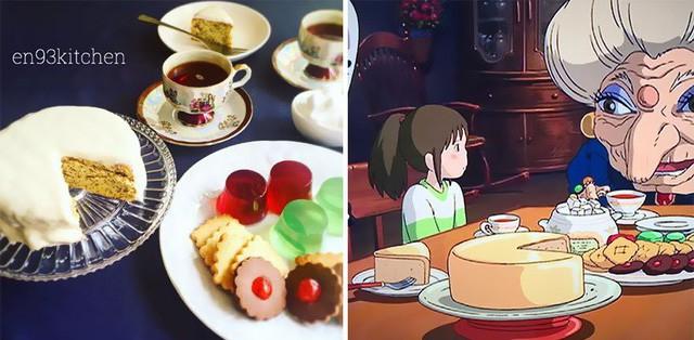 Bà nội trợ tài ba biến đồ ăn trong hoạt hình Ghibli ra đời thực - Ảnh 7.