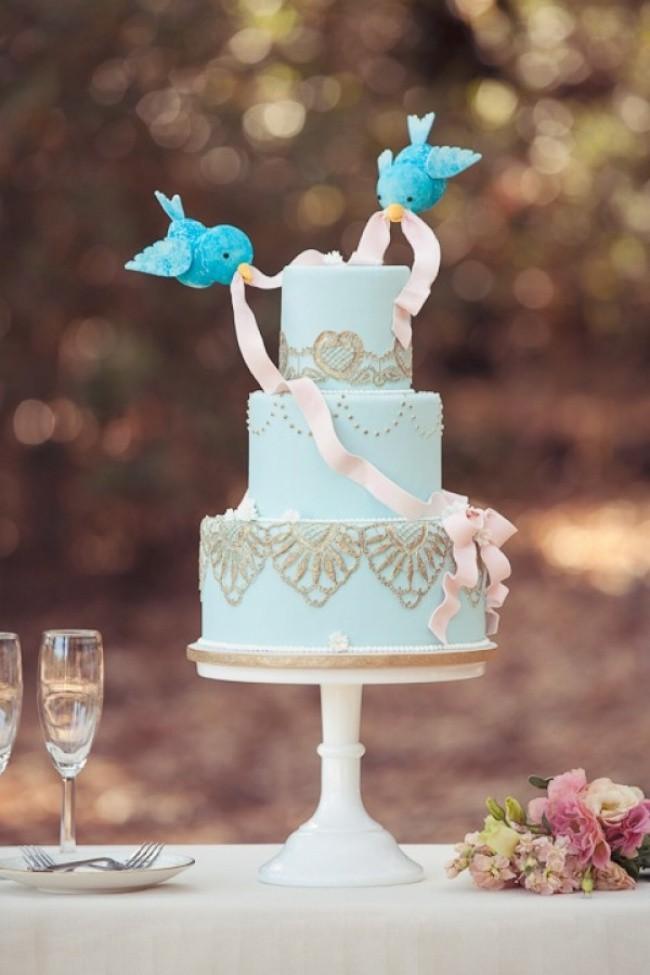 15 mẫu bánh cưới cảm hứng từ phim hoạt hình Disney - Ảnh 7.