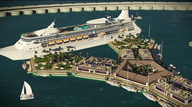 Bạn không hoa mắt đâu, đây là thành phố nổi đầu tiên trên thế giới giữa đại dương mênh mông - Ảnh 4.