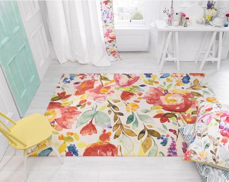 Gợi ý 14 mẫu thảm trải sàn rực rỡ giúp căn phòng biến thành cầu vồng đẹp mắt - Ảnh 7.