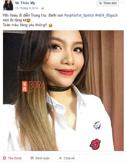 Mỹ nữ Showbiz Việt phát sốt với dòng son môi mới - Ảnh 5.